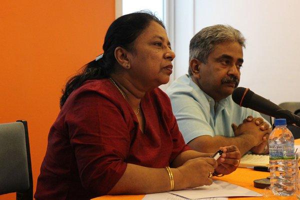 Working for justice: Visaka Dharmadasa